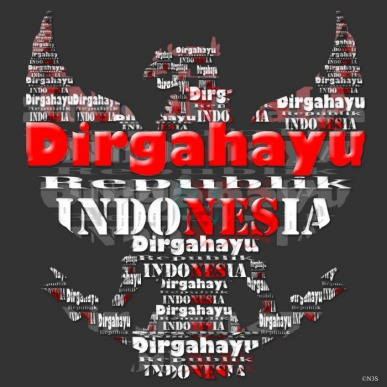 Dirgahayu Indonesia! Pic taken from tabloidtekno.com